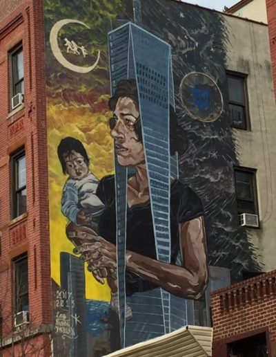 End of Race mural
