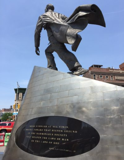 Adam Clayton Powell, Jr., statue